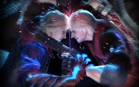 Обои Devil May Cry 4: Графика, PS3, Devil May Cry, Игры, Игры