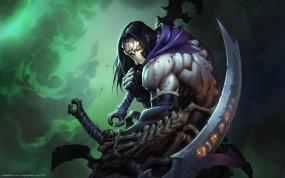 Обои Darksiders : Монстр, Мечи, Darksiders, Игры
