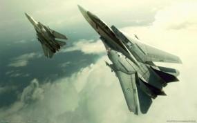 Обои Ace Combat: Истребители, ВВС, Войска, Полёт, Ace Combat