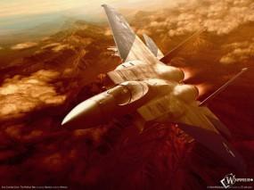 Обои Ace Combat: Король неба, Истребитель, Айс Комбат, Ace Combat