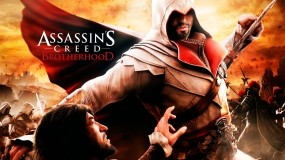 Обои Ezio vs Cezare: Игра, Assassins creed, Assassins creed