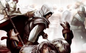 Обои Assassin Creed 2: Смерть, Assassin`s Creed, Ezio, Assassins creed