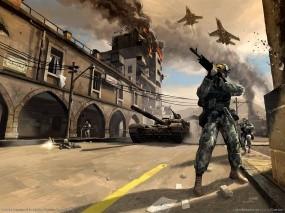 Обои Battlefield 2: Война, Солдат, Battlefield, Battlefield