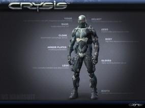 Обои Crysis Nanosuit: Crysis, Нанокостюм, Nanosuit, Armor, Crysis