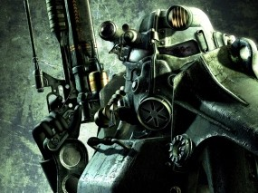 Обои Fallout 3: Fallout, Силовая броня, Fallout