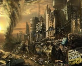 Обои Fallout 3: Город, Fallout, Разруха, Fallout