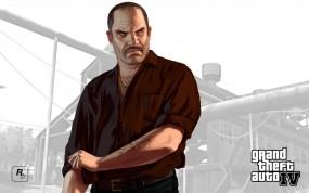 Обои русский гангстер: Гангстер, GTA 4, Михаил, Наколка, ГТА 4, GTA
