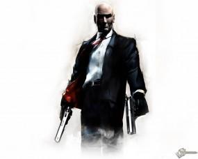 Обои Хитмен с пистолетами: , Hitman