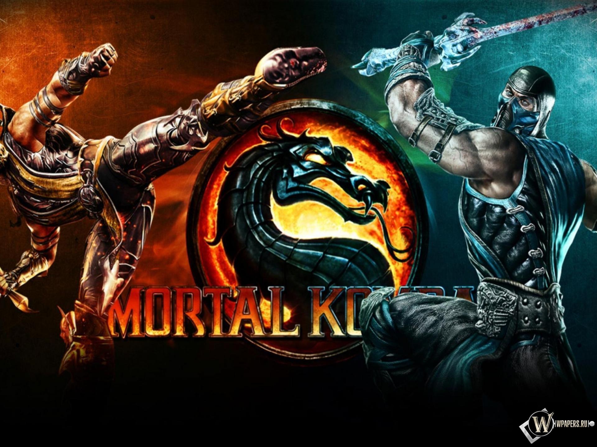 Обои логотип, смертельная битва, Mortal kombat x. Игры foto 14