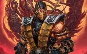 Обои Scorpion: Игра, Mortal Kombat, Mortal Kombat