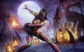 Обои Mortal Kombat: Кровь, Игра, Mortal Kombat, Милена, Сражение, Mortal Kombat