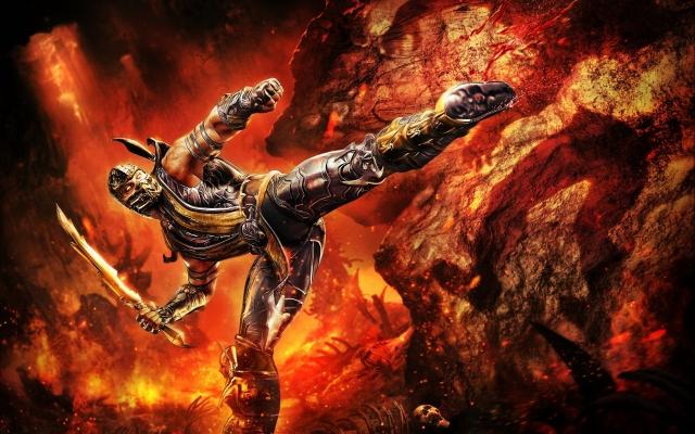 Скорпион из Mortal Kombat
