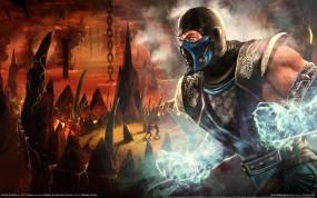 Обои Субзеро: Mortal Kombat, Саб-Зиро, Sub-Zero, Mortal Kombat