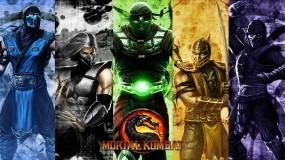 Обои Ниндзя из МК: Mortal Kombat, Noob Saibot, Smoke, MK, Sub-Zero, Scorpion, Ermac, Mortal Kombat