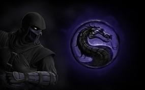Обои Noob saibot: Эмблема, Mortal Kombat, Ниндзя, Боец, Нуб Сайбот, Mortal Kombat