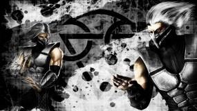 Обои Mortal Kombat - Smoke: Игра, Mortal Kombat, Smoke, Файтинг, Mortal Kombat
