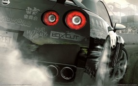 Обои Need For Speed - Nissan Skyline OverTuned: Гонка, Гонки, NFS, Игра, Nissan Skyline, Игры, Need For Speed, NFS