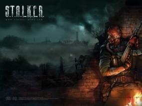 Обои Сталкер: Туман, Сталкер, Зона, S.T.A.L.K.E.R