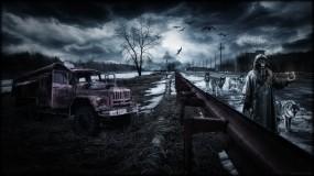 Обои Ловец волков: Чернобыль, Сталкер, Пейзаж, Апокалипсис, Припять, S.T.A.L.K.E.R