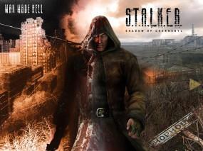 Обои Сталкер Тень чернобыля: Сталкер, Stalker, Радиация, Зона, S.T.A.L.K.E.R