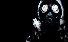 Обои Сталкер : Глаза, Чёрный, Сталкер, Противогаз, S.T.A.L.K.E.R