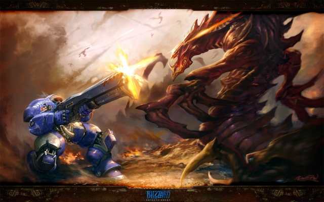 Starcraft 2 terran vs zerg