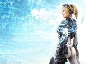 Обои StarCraft Ghost: 3D, Девушка, Попа, Игра, StarCraft