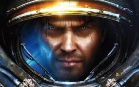 Обои Star Сraft 2 хуман: Лицо, Старкрафт, StarCraft, Blizzard, StarCraft