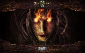 Обои StarCraft 2: Лицо, StarCraft, Зерги, Сара Керриган, StarCraft