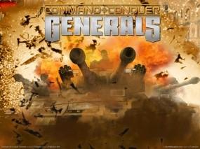 Обои Generals: C&C, Стратегия, Танки, Generals, C&C