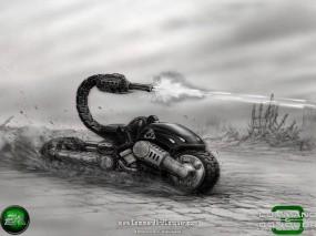 Обои NOD: Мотоцикл, C&C, Стратегия, NOD, Tiberian Sun, C&C