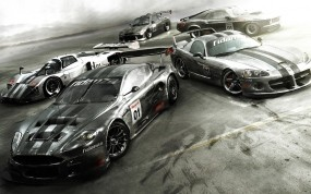 Обои Race Driver: GRID: Race Driver, Авто из игр