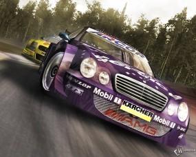 Обои DTM Race: Mercedes, Racing, Авто из игр