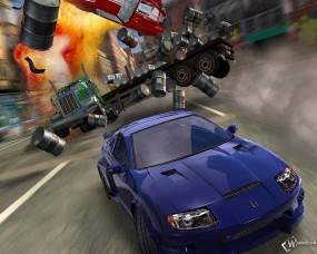 Обои Burnout 3 Takedown: Burnout, Авария, Авто из игр