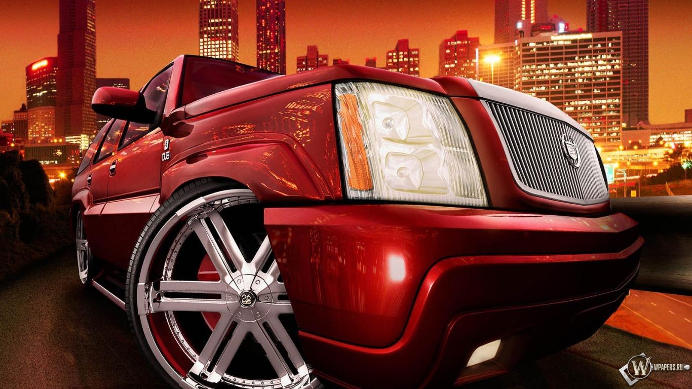 Cadillac escalade обои на рабочий стол