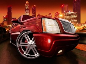 Обои Midnight club 3: Cadillac Escalade, Midnight Club, Авто из игр