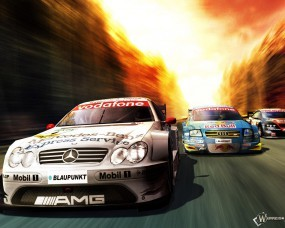 Обои Гонки: Mercedes, Гонка, Audi, Авто из игр