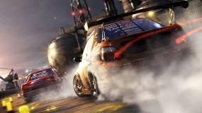 Обои Race Driver: GRID: Дым, Дрифт, Субару, Race Driver, Авто из игр