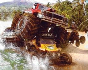 Обои MotorStorm: Гонки, MotorStorm, Бигфут, Прямой путь, Авто из игр
