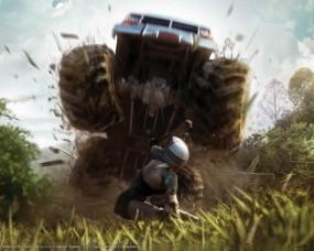 Обои MotorStorm: Гонки, Смерть, MotorStorm, Бигфут, Авто из игр