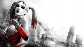 Обои Harley Quinn: Бэтмен, Телка, Харли Квинн, Клоунесса, Девушки из игр