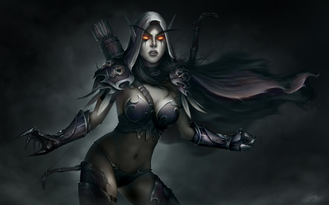 World of WarCraft Сильвана