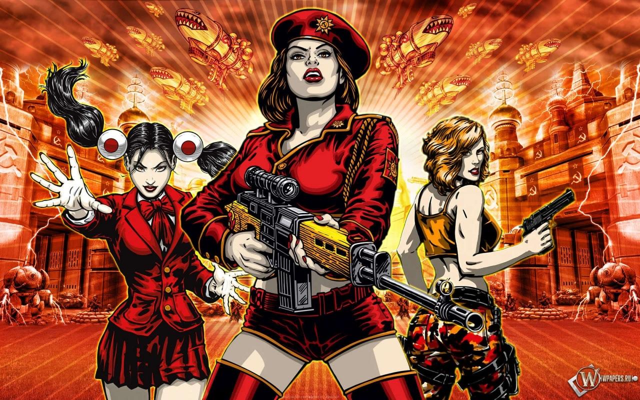 Red Alert 3 СССР 1280x800