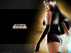 Обои Rogue: Телка, Шортики, Rogue, City of Heroes, Девушки из игр