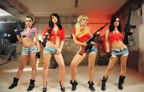 Обои Дюк Нюкем: Оружие, Телки, Вояки, Девушки из игр