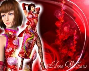 Обои Анна Вильямс: Боец, Tekken, Файтинг, Анна Вильямс, Девушки из игр