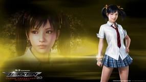 Обои Tekken - КсаоЛи: Телка, Боец, Tekken, КсаоЛи, Девушки из игр