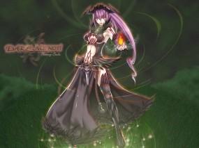 Обои Колдунья из Blazing Souls: Колдунья, Волшебница, Девушки из игр