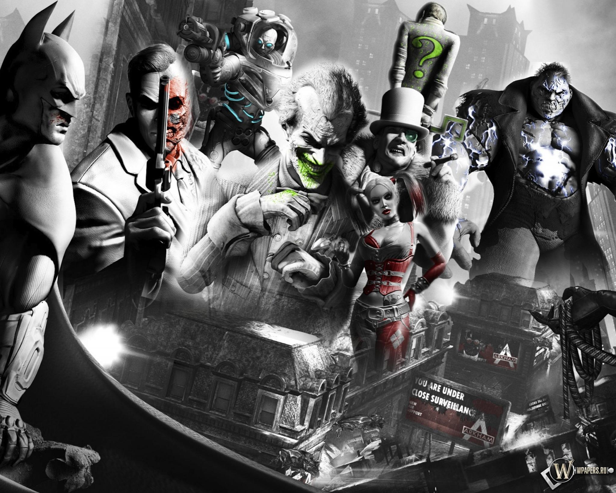 Batman: Arkham City 2048x1638