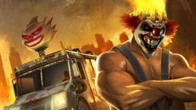 Обои Twisted Metall: Клоун, Грузовик, Twisted Metal, Другие игры